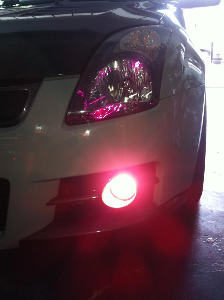 Swift Sport Pink Hid Fog Light Eclipse Auto